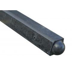 hoekpalen-antraciet-bol-180x10x10 sp37 39kg