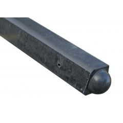 Hoekpalen-antraciet-bol-100x10x10 sp37 22kg