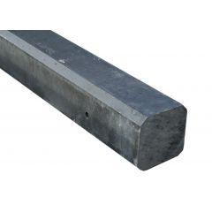 Eindpalen-antraciet-vlak-275x10x10 sp74 60kg