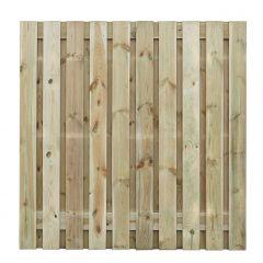 **Grenenhout - 21 planks -16mm - recht - 180 x 180 cm