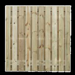 Grenenhout - 19 planks -17mm - recht - 220 x 180 cm