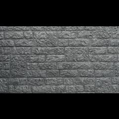 Romeins motief dubbelzijdig - Antraciet - 184x36