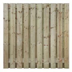 Vurenhout - 19 planks -18 mm  - recht - 180 x 90 cm